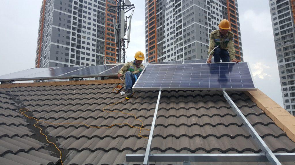 điện mặt trời gia đình 3kwp